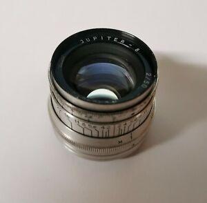 Objectif JUPITER-8 Silver monture LTM/L39, piqué et bokeh TOP