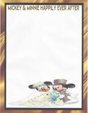 Mickey & Minnie Happily Ever After Stationery Printer Paper 26 Sheets