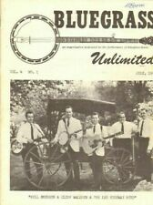 1969 July Bluegrass Unlimited Magazine Back-Issue
