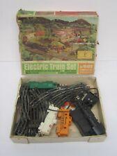 Vtg Marx Electric Train Set 4351 Steam Railroad Tracks Transformer W/ Box As Is