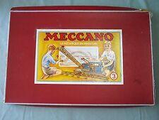 AB547 MECCANO ANCIENNE BOITE VIDE NUMERO 3 ETAT MOYEN