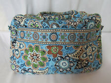 Vera Bradley Bali Blue Carry On Overnight Weekend Travel Bag with Strap