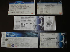 Chelsea v Basel Champions League Football Ticket Stub 18 Sept 2013 2013/14