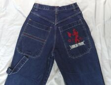 MEN'S LINKIN PARK FLARED CARPENTER JEANS PAPERCUT ALBUM EMBROIDERED 28x31 28x30