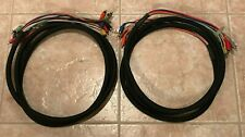 Lot of 2 Hosa Rca to Rca 8 channel 10ft Snakes - all channels Tested - read desc