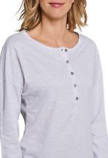 Schiesser Mujer Mix & Relax Camiseta Langarm Talla 36-50 S-5XL Dormir