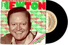 "BERT NEWTON DEBNEY PARK SCHOOL - BRING BACK THE SPIRIT OF CHRISTMAS 7""45 RECORD"