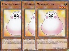 3 x Marshmallon - YS17-EN015  - Common   1st Edition YUGIOH