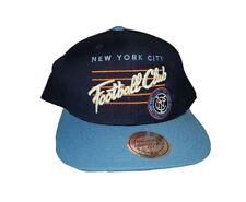 Mitchell & Ness New York City Football Club Adult Blue Adjustable Baseball Cap