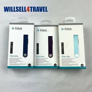 Fitbit Alta Classic Accessory Band Genuine Original Large New Lot Of 5 Wholesale