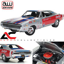 AUTOWORLD AW238 1:18 1970 DODGE CHARGER R/T DICK LANDY NHRA RACE CAR