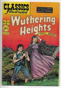 1949 Classics Illustrated #59 Wuthering Heights 1st Edition VF 8.0