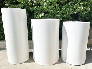 Cylinder Pillar Columns Stackable Dessert stand column Event Decor round table