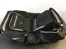 Atlantic 6-pocket Black Duffel Bag