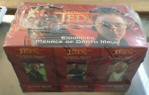 Young Jedi Enhanced Menace of Darth Maul: 12 decks ccg card game