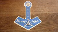 OLD 1950s GERMAN BEER LABEL, BRAUEREI RINTELN NEU SAXONY, EXPORT BIER