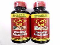 240 caps BioAstin - Hawaiian Astaxanthin ( Non GMO ) 4mg -  2 x 120 gel capsules