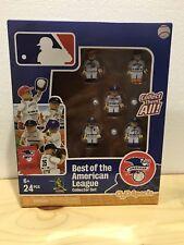 NIB...BEST OF THE AMERICAN LEAGUE MLB Lego Oyo Sports Minifigure Set-5 figures