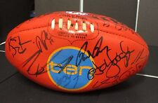 Sydney : 2005 Premiership Team signed official Grand Final Sherrin Football -Ten