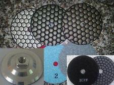 5 Inch Diamond Dry Polishing Pad 28 + 2 granite marble concrete masory ceramic