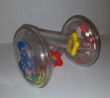 Vintage 1980s Johnson & Johnson StarPlay path rattle developmental infant baby