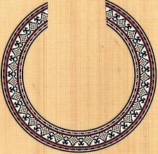 CLASSICAL,GUITAR  ROSETTE,SOUND HOLE, WATERSLIDE DECAL/STICKER MK-05