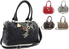 Designer-Handtaschen Damentaschen mit abnehmbaren Trageriemen und Gesteppt