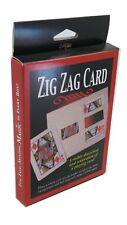 Magic Trick Zig Zag Card by Royal Magic