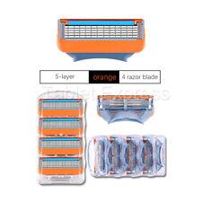 Men's Shaver Cartridges for Gillette Fusion 5-layer Razor Blade 4 Pack 16Pcs