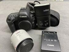 Canon EOS 5D Mark IV 30.4MP Digital SLR Camera, 2X Extender, 320EX Speedlight +