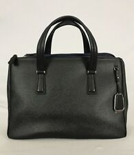 Tumi Sinclair Stella Double Zip Carry All  Laptop Bag Purse Black 79341  $395.