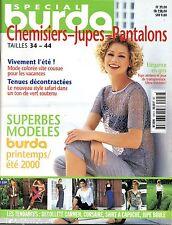 BURDA Spécial - Chemisiers, jupes et pantalons tailles 34/44