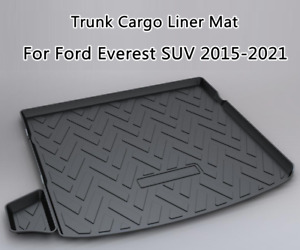 Car Rear Boot Trunk Liner Cargo Protector Mats for Ford Everest SUV2015-2021