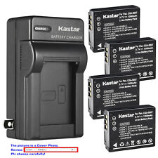 Kastar Battery Wall Charger for Panasonic CGA-S007 & Panasonic LUMIX DMC-TZ3K