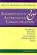Augmentative and Alternative Communication : Supporting Children and Adults with