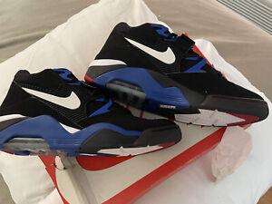 New, Nike Air Force 180 Charles Barkley Black, Royal Blue, Size 13, Jordan 1,4,5