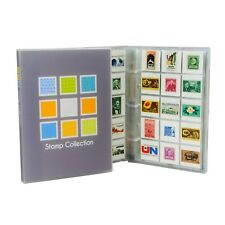 Stamp Collection Kit/Album, w/ 10 Pages, Holds 150-300 Stamps