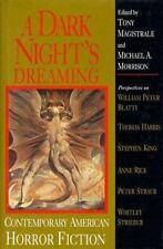 A Dark Night's Dreaming: Contemporary American Horror Fiction (Understanding Con