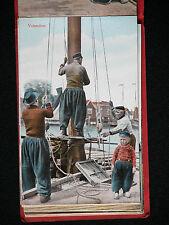Rare Nadruk VOLENDAM Vtg Postcard Lot 12 Ultgave WEENENK & SNEL Dan Haag