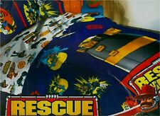 Rescue Heroes Fisher Price Twin Comforter Blanket Factory Sealed bedding New