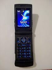 Sanyo Katana Scp-6600 - Mystic black (Sprint) Cellular Phone