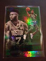 Jaylen Brown #76 2017-18 Panini Essentials Boston Celtics SP Green 2nd Year  NBA