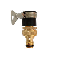 1/2 & 3/4 Inch Brass Faucet Adapter Female Washing Machine Water Tap Hose Quick