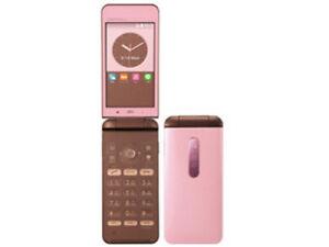 KYOCERA KYF31 GRATINA 4G WIFI KEITAI ANDROID FLIP PHONE PINK UNLOCKED