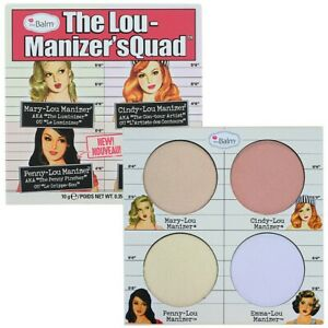 The Balm The Lou-Manizer'sQuad Authentic Product Paraben-free Vegan Cruelty Free