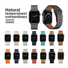 40mm/44mm Leather iWatch Strap for Apple Watch Band Series 5 4 3 2 1 38/42mm