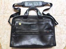 TUMI Alpha Leather Laptop Bag 96101DH
