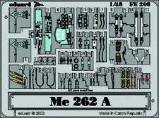 Eduard Accessories fe206 - 1:48 Me 262 a-2 - Ätzsatz-Neuf