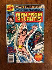 Man From Atlantis Comics Bronze Age, Marvel #1 to 7 Complete Set / Run