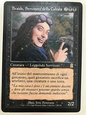 MAGIC MtG - BRAIDS, SERVITORE DELLA CABALA  - BRAIDS, CABAL MINION - NM ITA